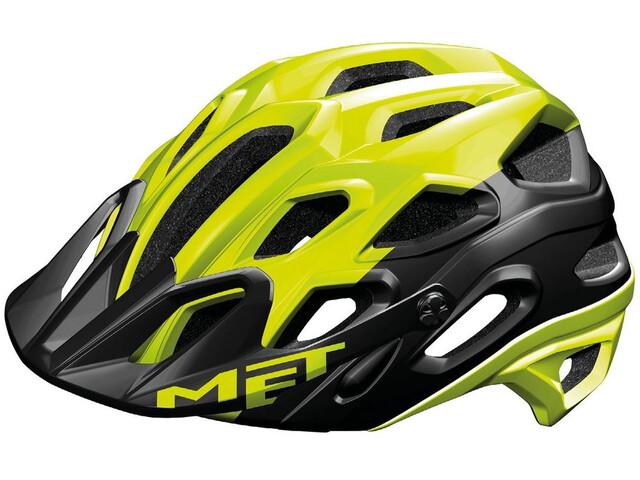 MET Lupo Cykelhjelm gul/sort (2019) | Helmets